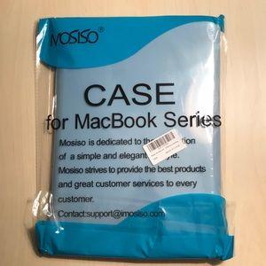 NEVER OPENED sky blue laptop case